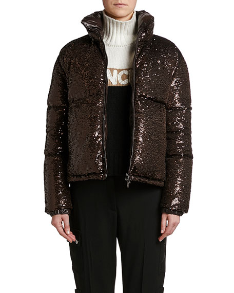Rimac Sequined Puffer Jacket