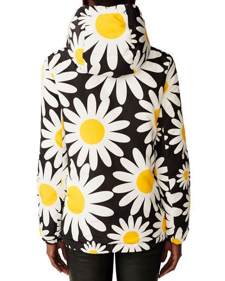 Richard Quinn Hooded Daisy Jacket