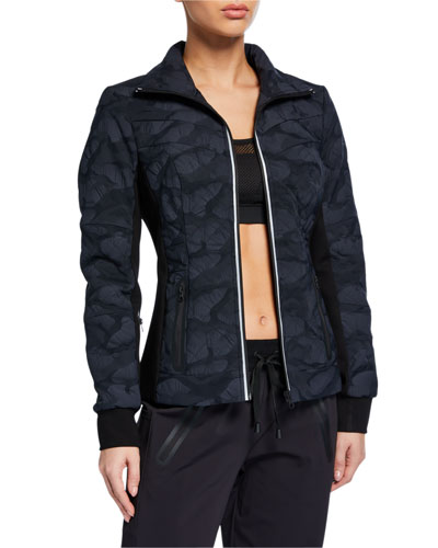 Performance Camo Quilted Jacket
