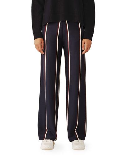 Twin Stripe Track Pants