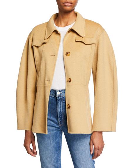 Adut Wool Belted Coat