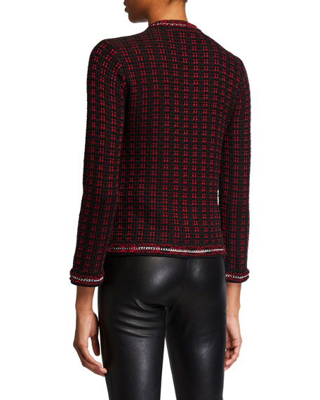 Georgia Short Embellished Sweater Jacket