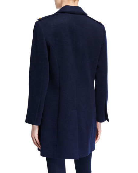 Emmi Double-Breasted Pea Coat