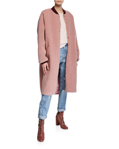 The Sherpa Long Coat
