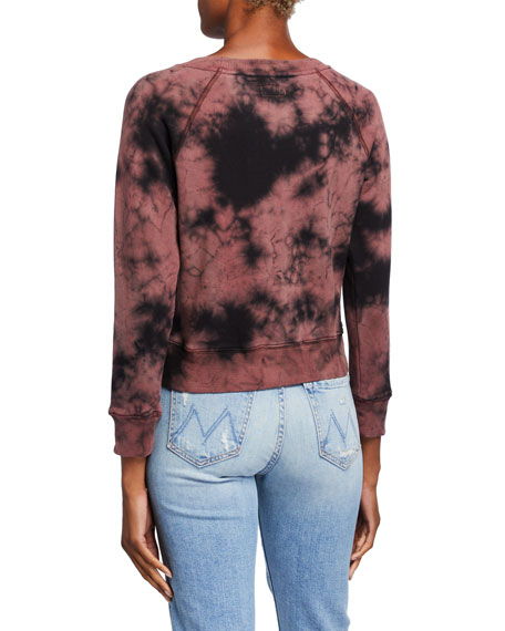 The Shrunken Square Tie-Dye Sweatshirt