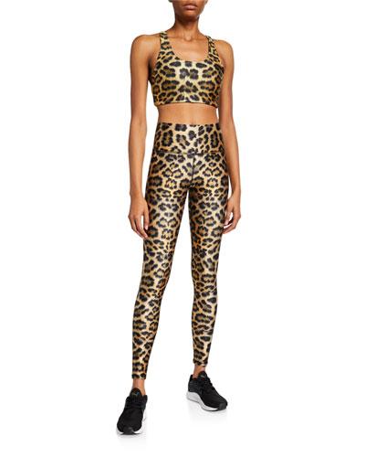 Leopard High-Rise Leggings