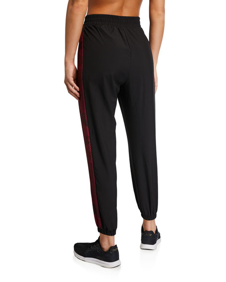 Side-Printed Wind Jogger Pants