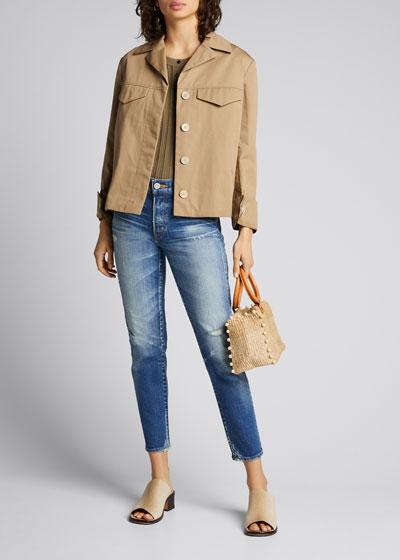Velma Cropped Skinny Jeans