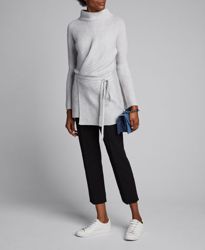 Drape Front Wrapped Cardigan