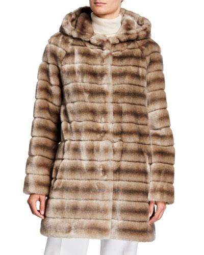 Oh My Deer Faux Fur Coat