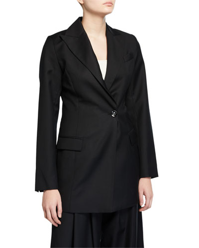 Sienna Double-Breasted Long Jacket