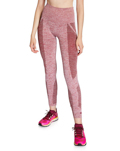 Seamless Textured Performance Tights
