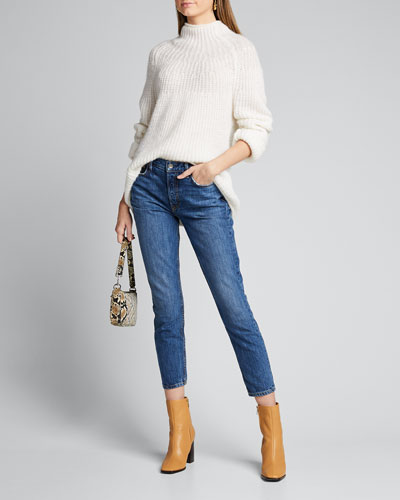 Karolina High-Rise Cropped Skinny Jeans