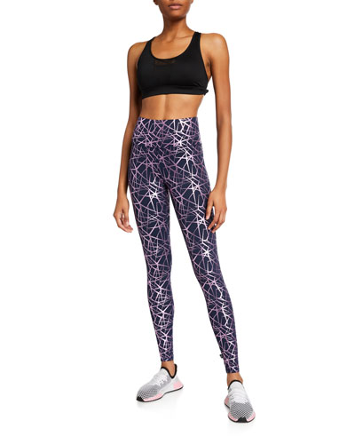 Stars High-Rise Foil Leggings