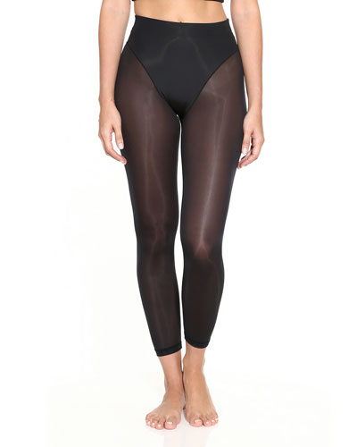 French-Cut High-Rise Leggings