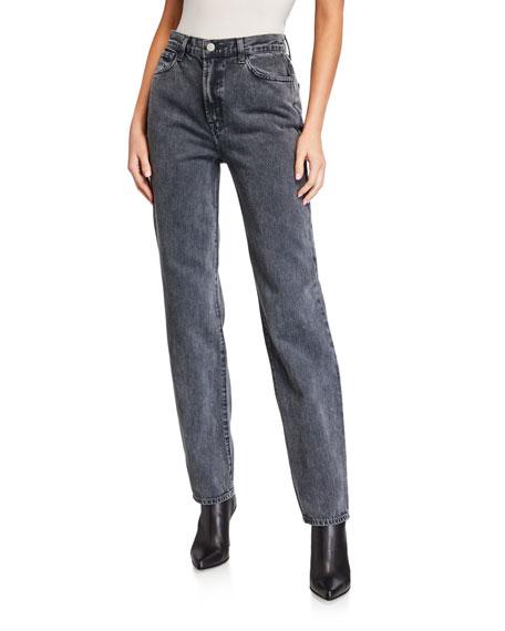 Elsa Sunday Straight-Leg Jeans