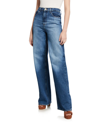 x Elsa Hosk Monday Straight-Leg Jeans