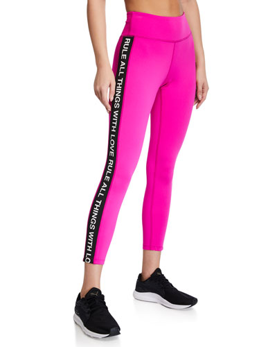 Side-Stripe 7/8 Active Leggings