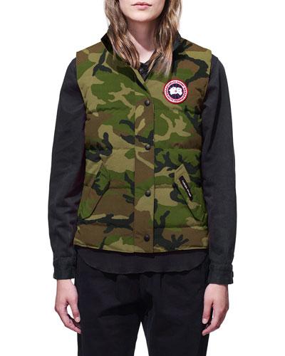 Freestyle Camo Puffer Vest