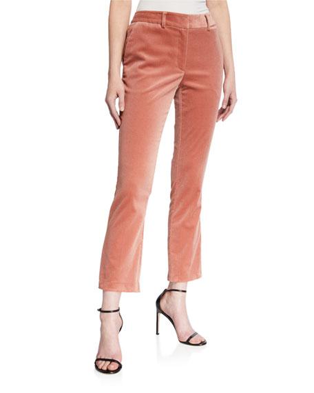 Le Cropped Mini Boot Corduroy Pants