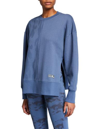 Zip-Sleeve Sweatshirt