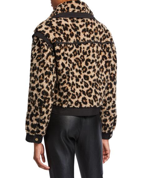 Anita Faux-Fur Snap-Front Jacket