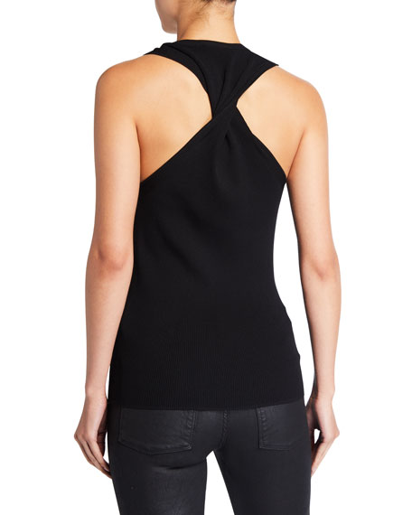 Twisted Jersey Tank Top