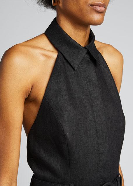 Bonita Halter-Neck Long Dress