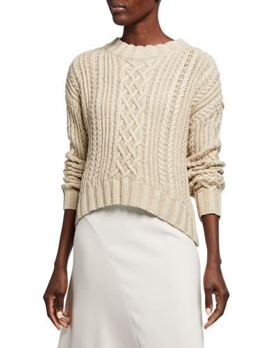 Kiri Cable-Knit Sweater