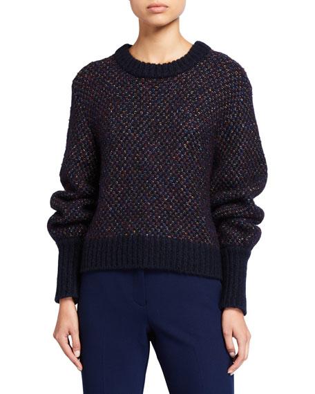 Beckia Metallic Sweater