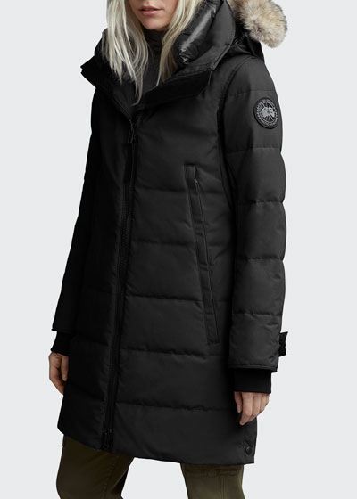 Kenton Fur-Trim Hooded Parka