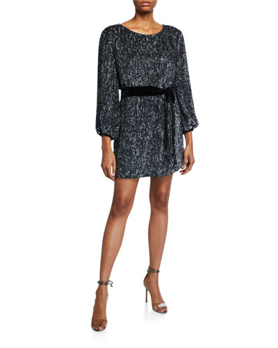 Grace Sequined Cocktail Dress