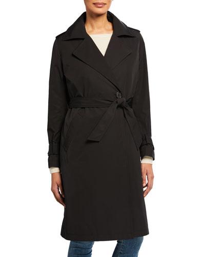 Minimalist Trench Coat w/ Detachable Liner