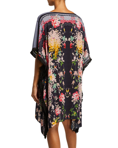 Mono Printed Coverup Tunic