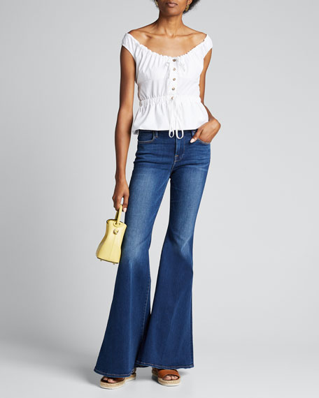 Image 1 of 1: Le High Super Flare Jeans