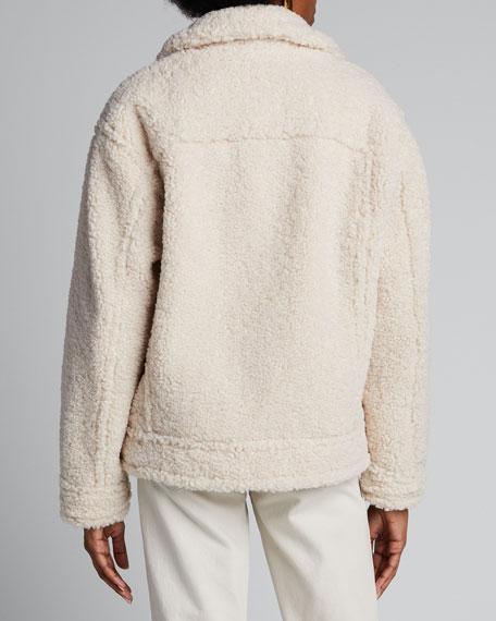 Sherpa Faux Fur Jacket