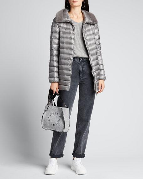 Soufre Long Puffer Coat