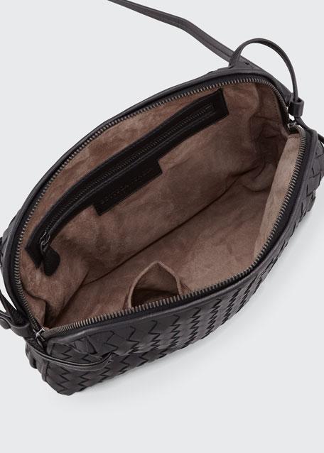 Intrecciato Messenger Bag