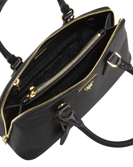 3ae6616bad3ce0 Prada Medium Saffiano Promenade Bag Black (nero) | Stanford Center ...