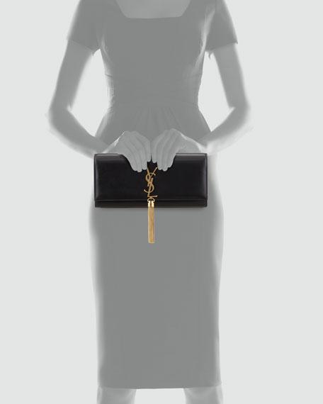 Cassandre Tassel Clutch Bag