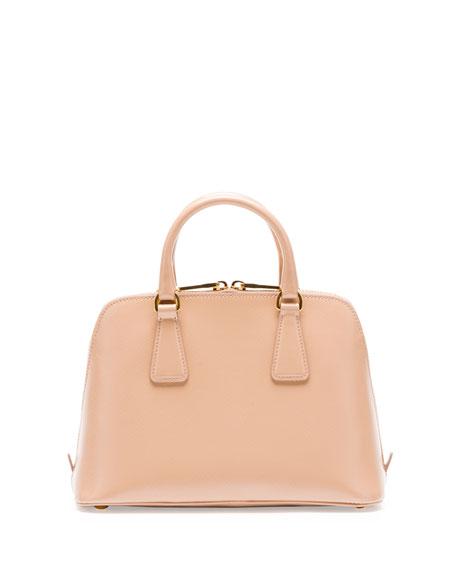 prada handbags cheap - Prada Saffiano Vernice Mini Promenade Bag, Blush (Cammeo)