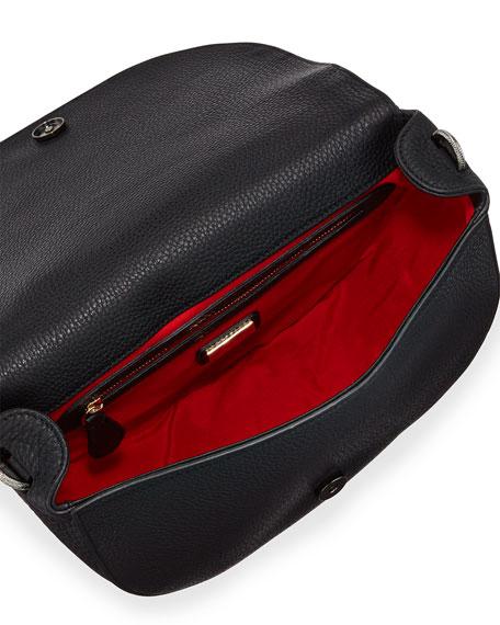 Panettone Spiked Messenger Bag, Red/White/Black