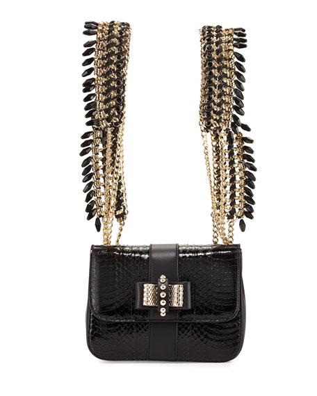 Christian Louboutin Sweet Charity Mini Snakeskin Backpack dffdc3c6a1740