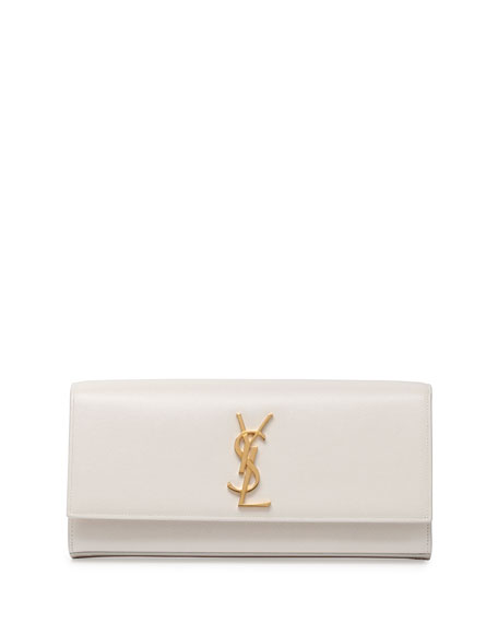 Monogram Smooth Leather Clutch Bag