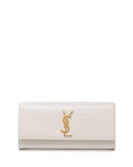 Monogram Smooth Leather Clutch Bag