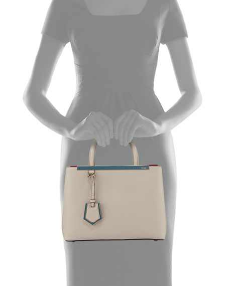 2Jours Calf Leather Petite Tote Bag