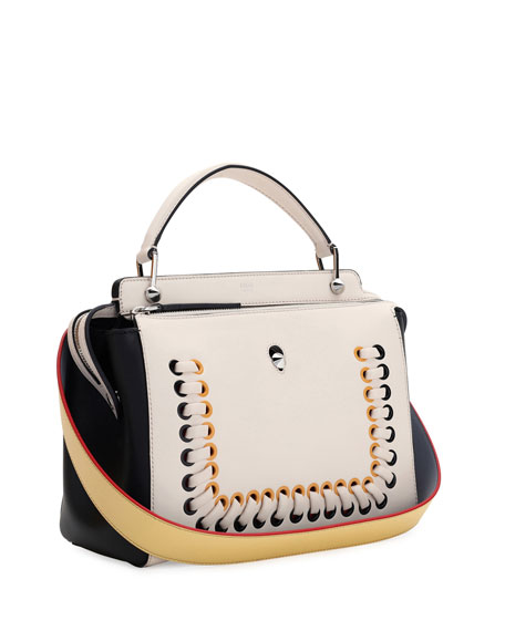 Dotcom Medium Whipstitch Satchel Bag