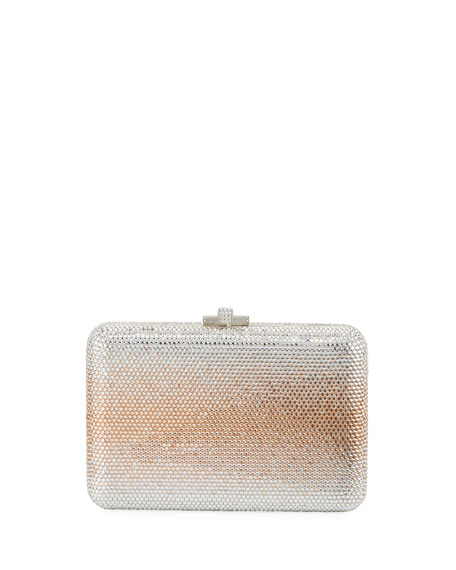 Judith Leiber Couture Slim Slide Crystal Evening Clutch