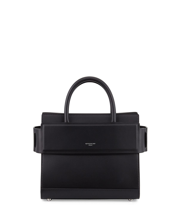 Horizon Mini Leather Satchel Bag by Bergdorf Goodman