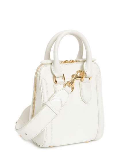 Small Heroine Leather Satchel Bag